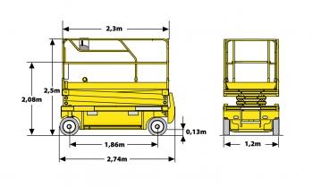 Haulotte Compact 14